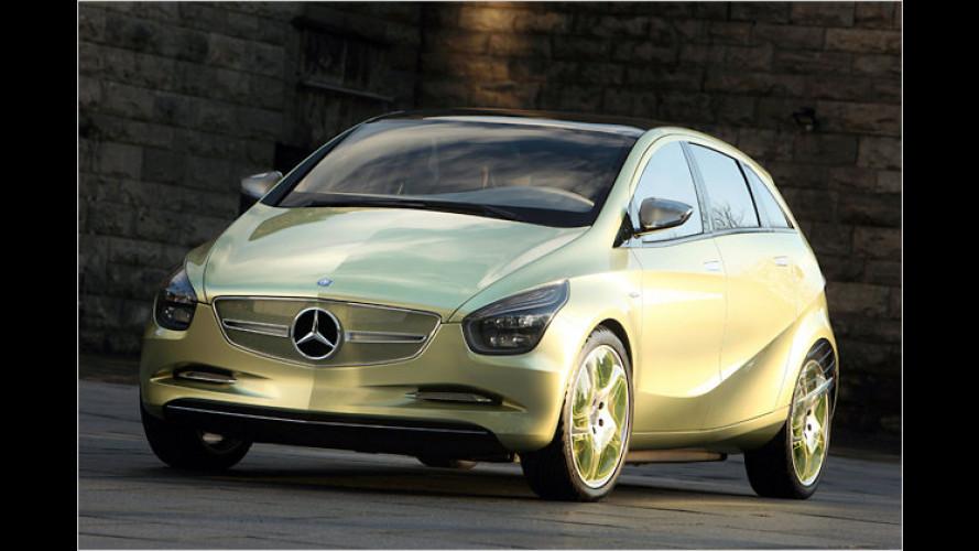 Mercedes Concept BlueZero E-Cell: So fährt Mercedes in die Zukunft