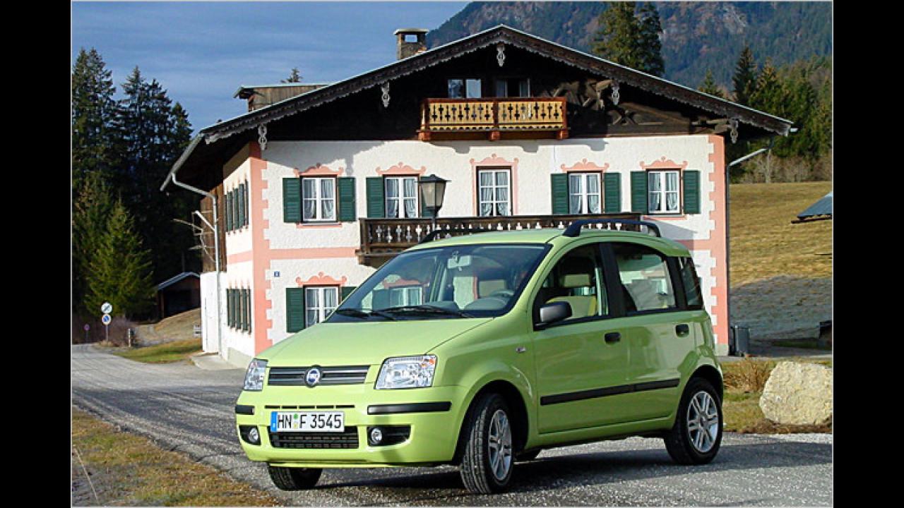 Platz 7: Fiat Panda (3,1 Prozent)