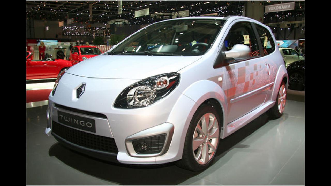 Renault Twingo Sport: Rennzwerg mit einem 133 PS starken 1,6-Liter-Benziner