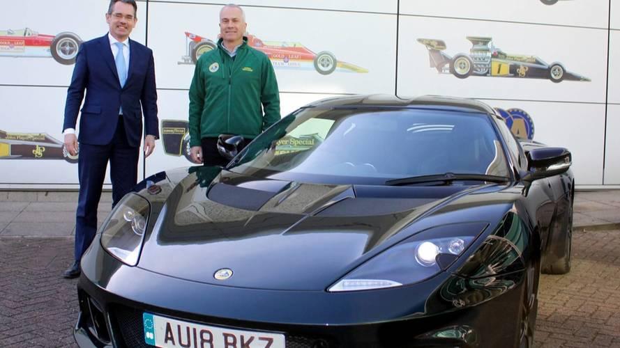 Un Lotus Evora GT410 Sport, para Clive Chapman