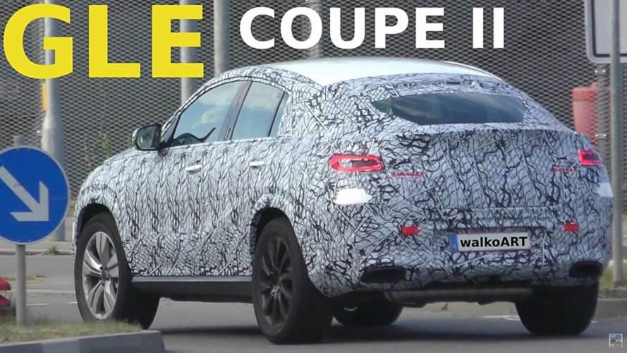 2020 Mercedes GLE Coupe Casus Video Ekran Görüntüleri