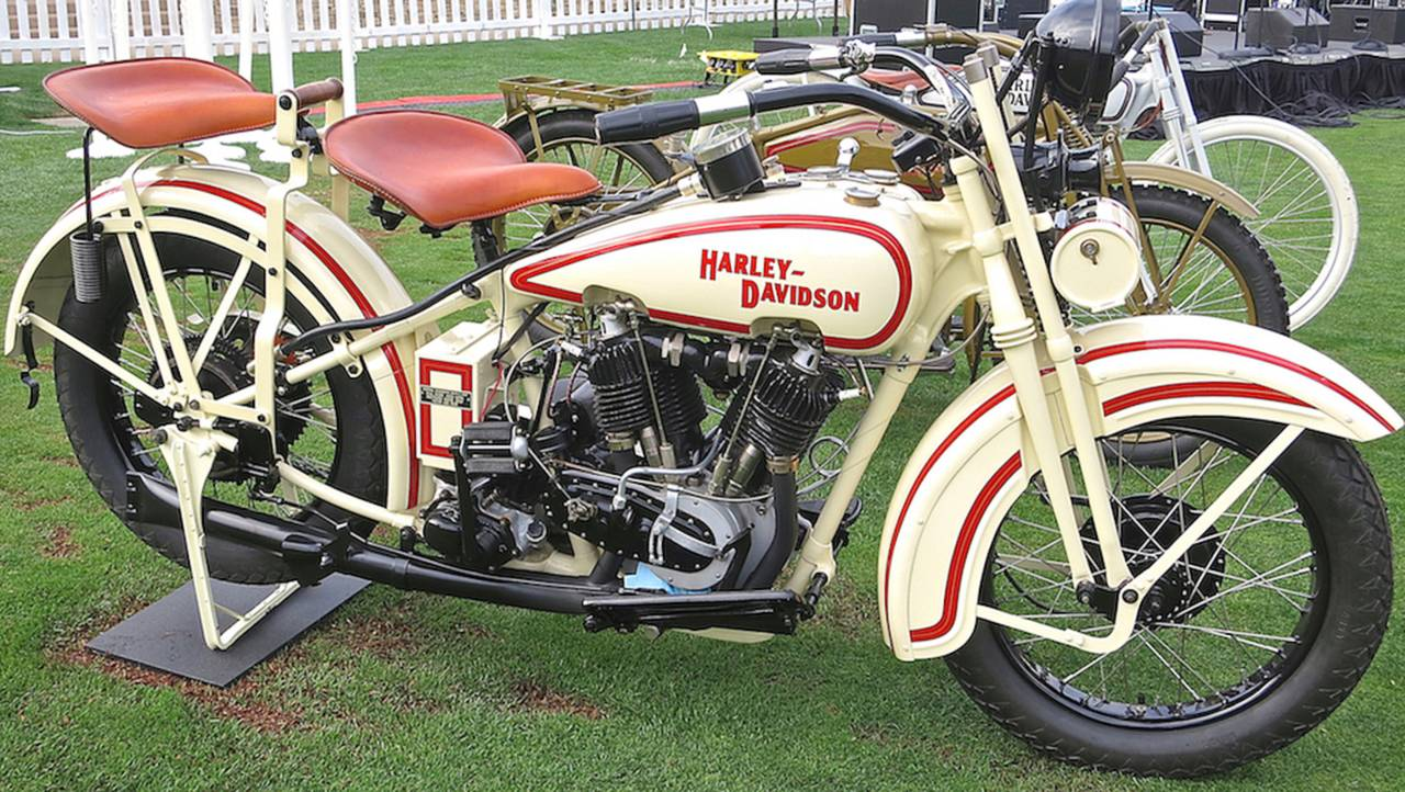 12 American Bikes That Changed Everything 1948 Indian Motorcycle Engine Diagram Harley Davidson J Model
