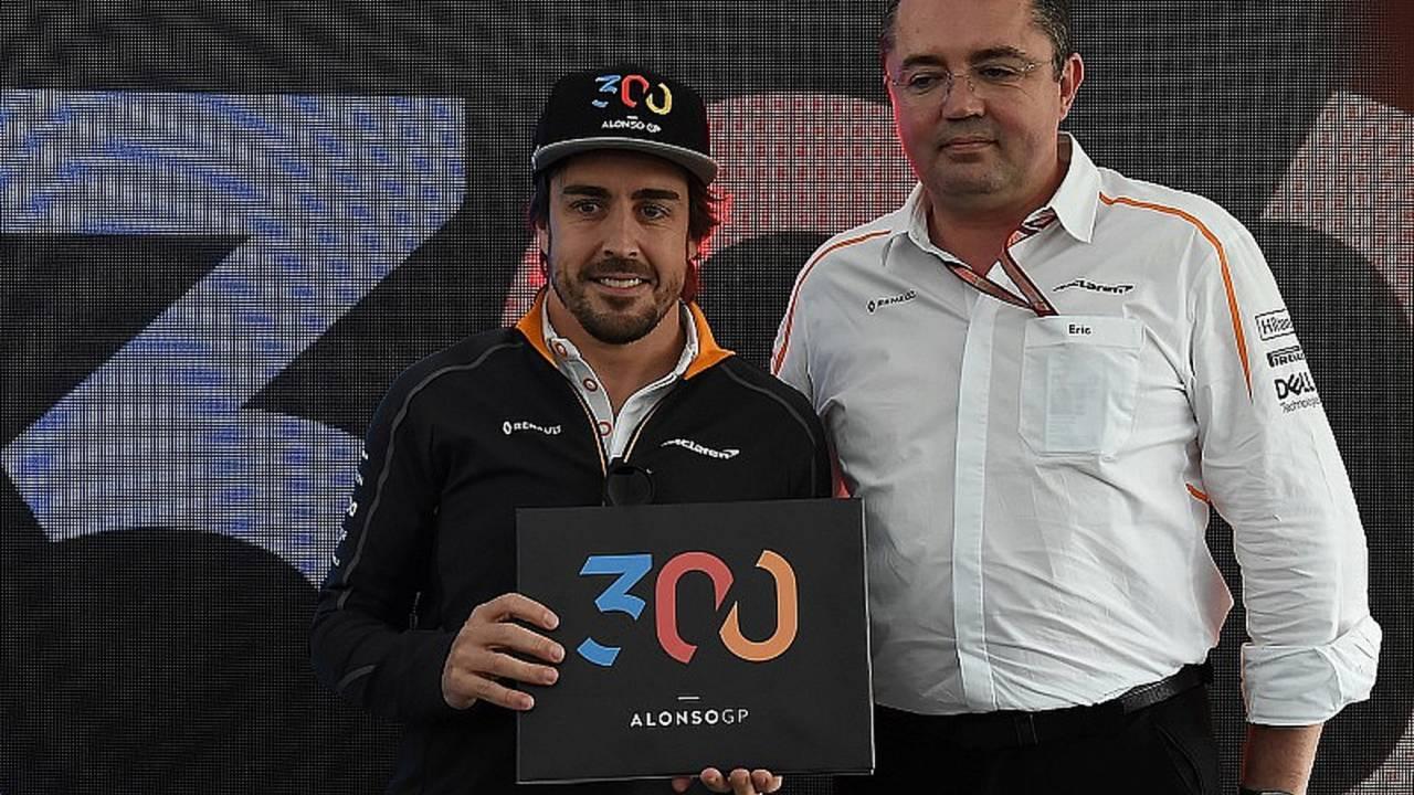 Fernando Alonso, en el GP de Canadá 2018