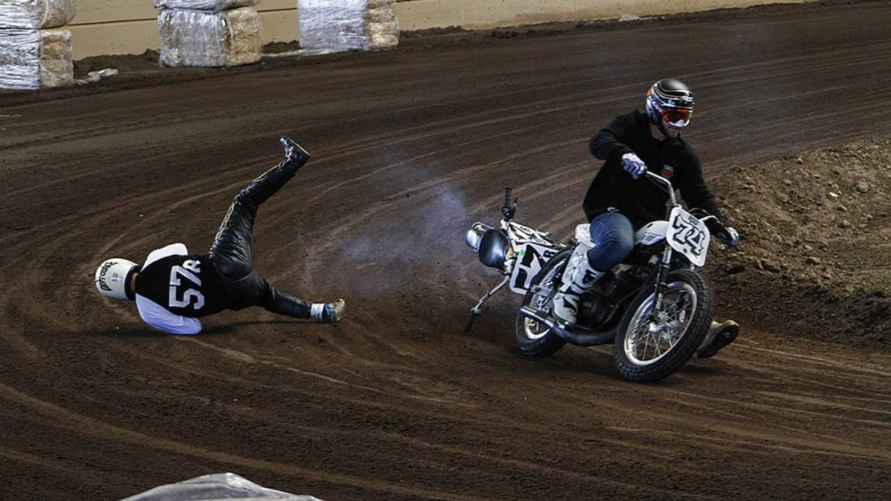Flat Track Racing - Hooligans, Harley's and Classics, the Del Mar Season Finale