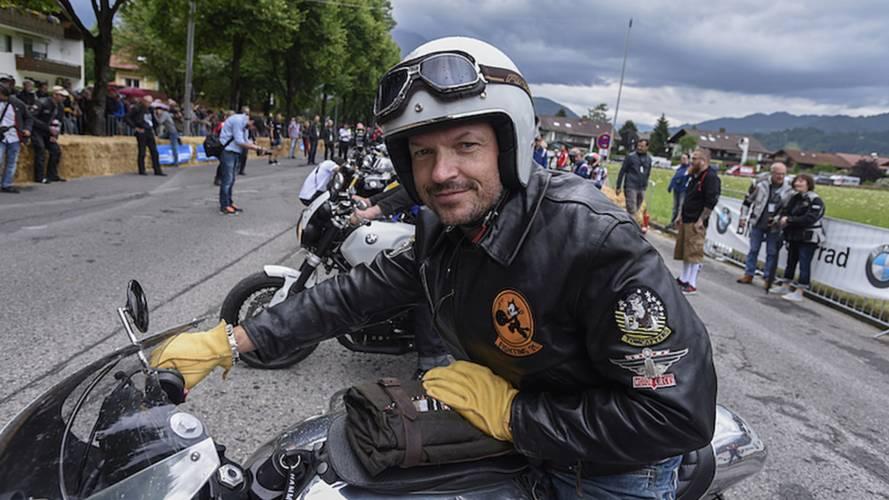 BMW Fans Brave Bad Weather For Motorrad Days