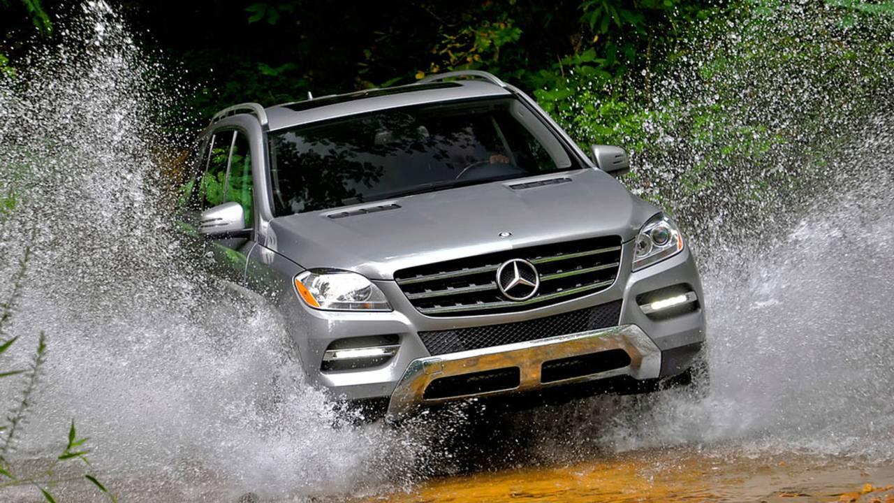 More than a mom wagon? The Mercedes-Benz ML250 BlueTEC.