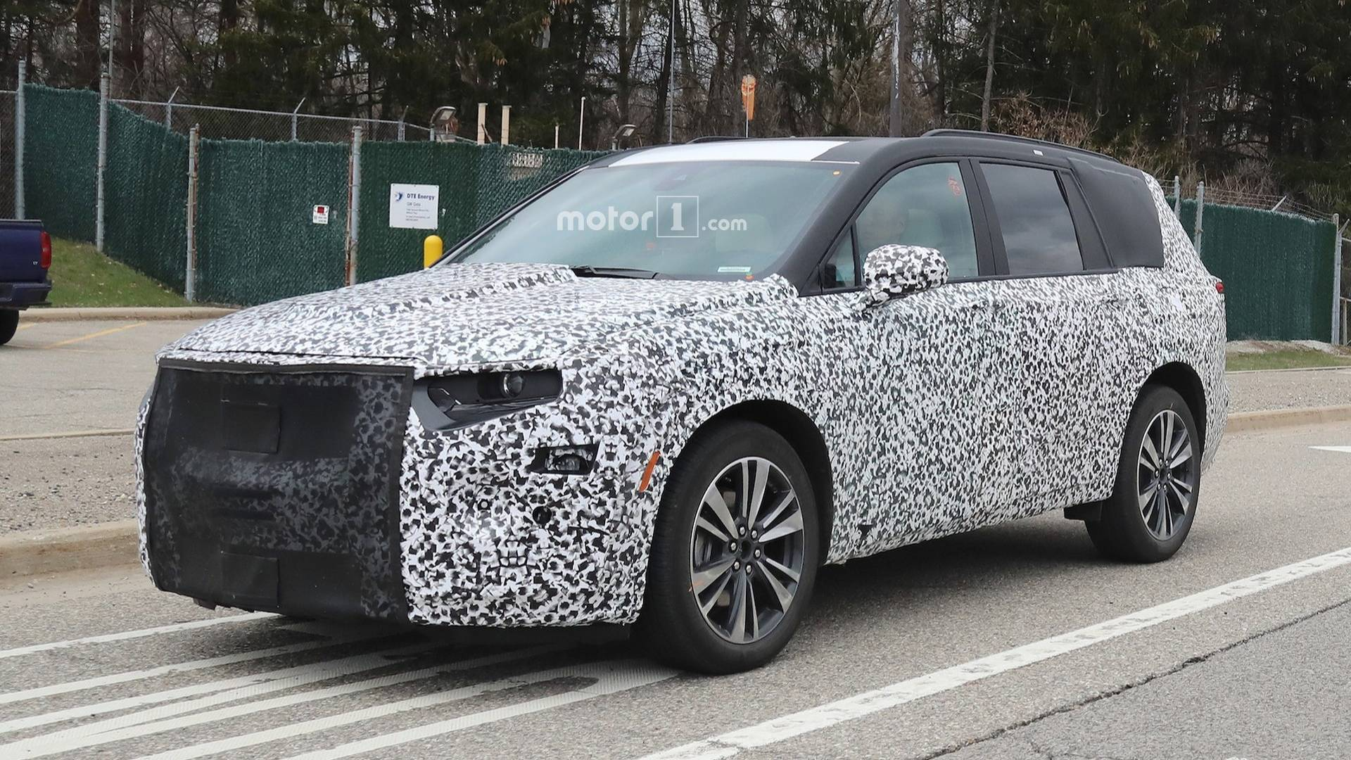 Three Row Cadillac Xt6 Suv Caught Testing