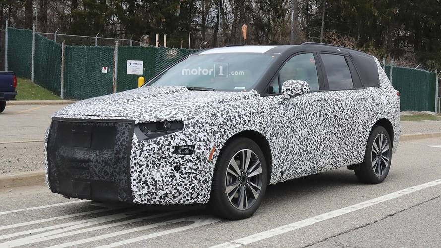 Three-Row Cadillac XT6 SUV Caught Testing