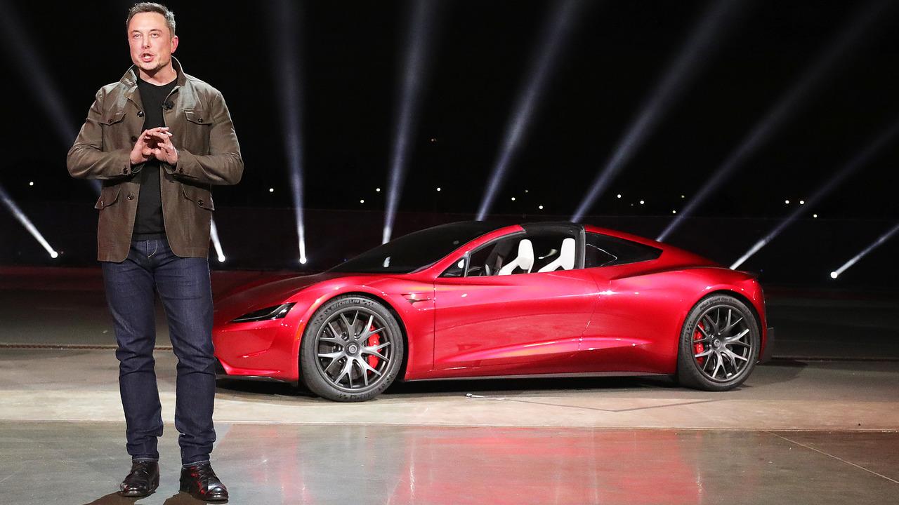 Elon Musk e la Tesla Roadster