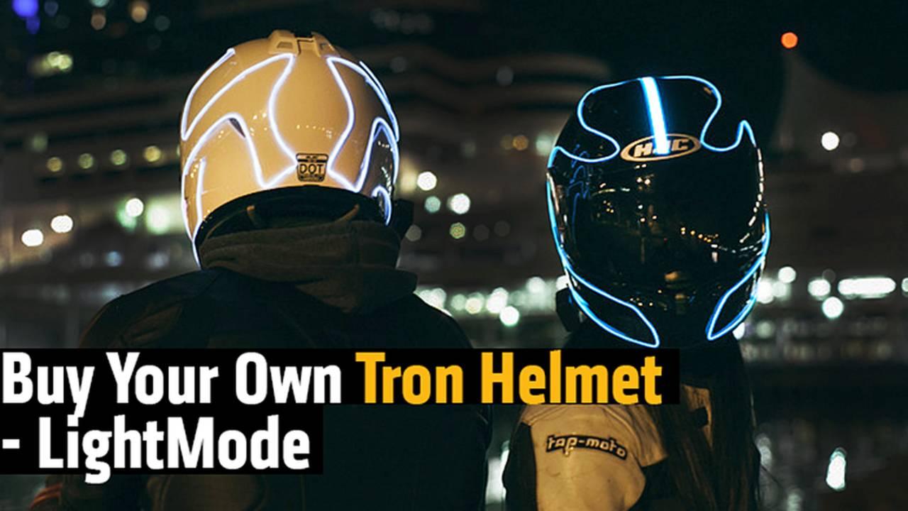 Buy Your Own Tron Helmet - LightMode