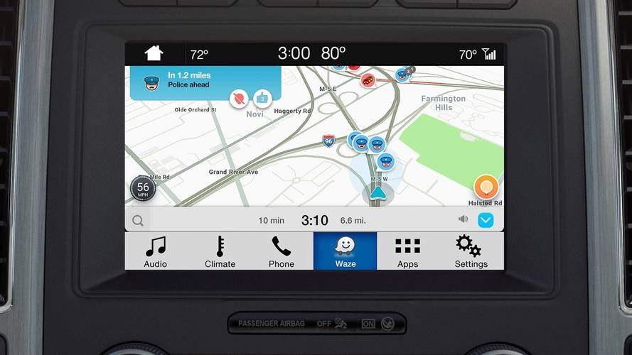 Ford Launches Waze Integration For iPhone Users