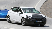 Makyajlı Opel Astra Casus Fotoğrafları