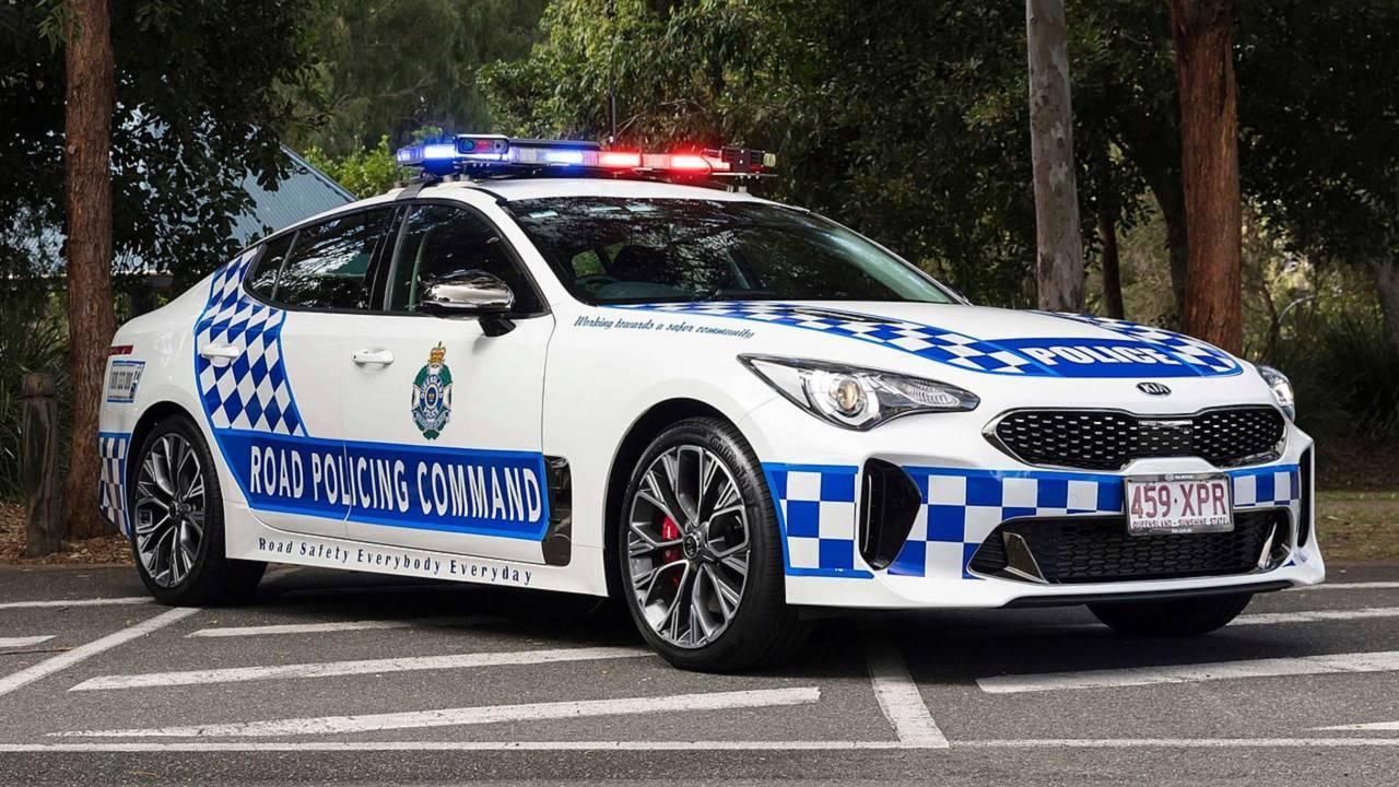 Kia Stinger Australia Police