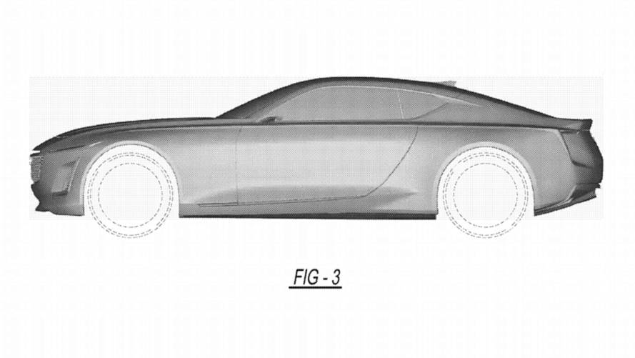 Cadillac Coupe Patent Illustrations