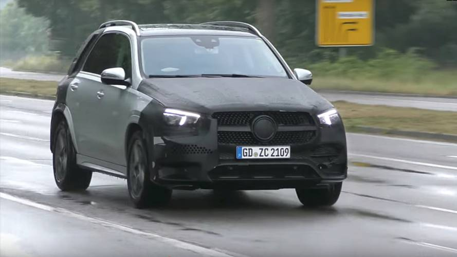 2018 Mercedes GLE'nin yeni casus videosu burada