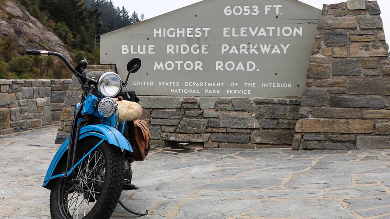 Rider Destinations:  The Blue Ridge Parkway