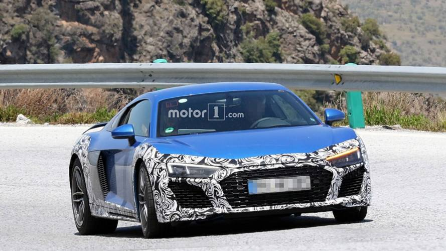 Audi R8 restylée en Photos espion