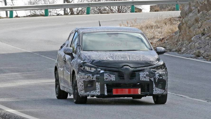 2019 Renault Clio Spy Photos