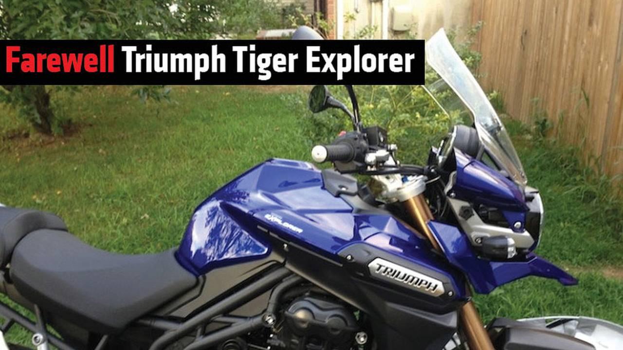 Farewell Triumph Tiger Explorer