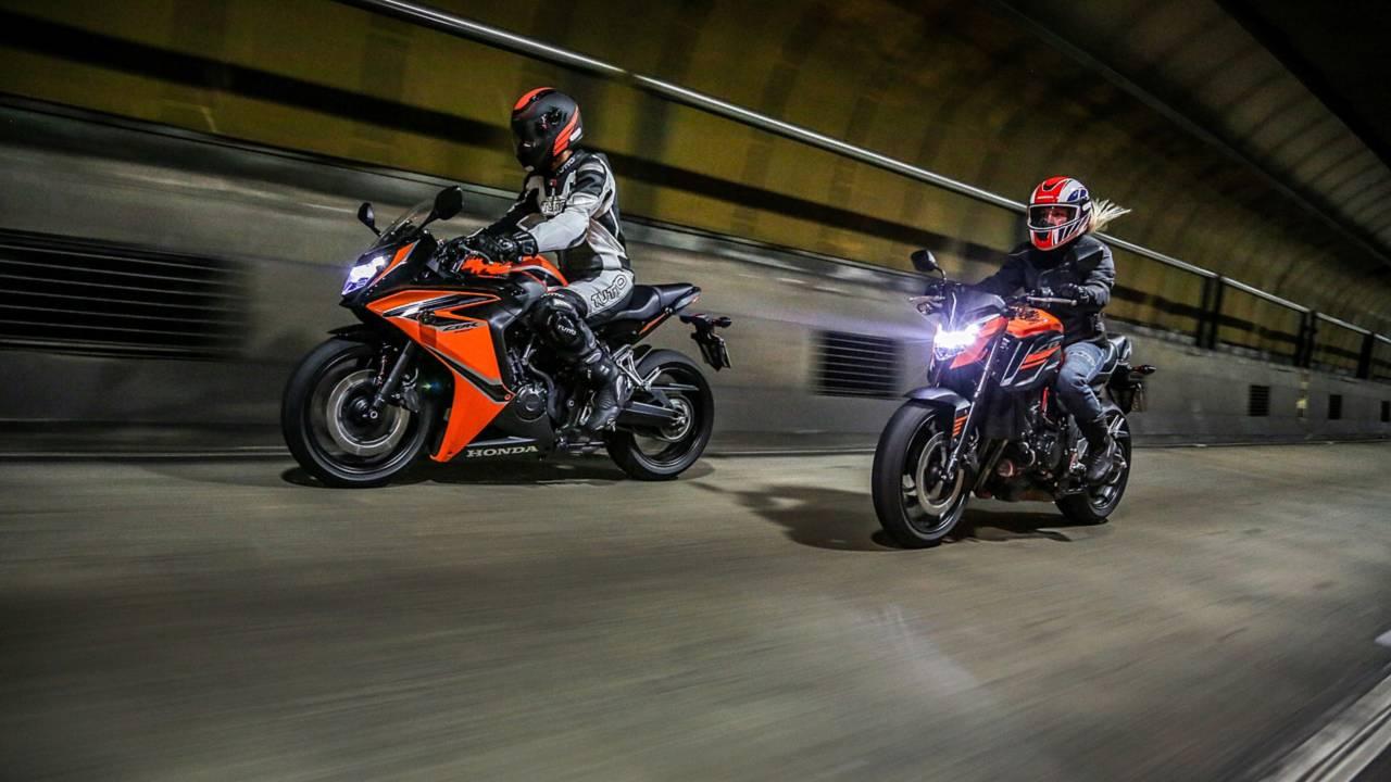 Honda CB 650F e CBR 650F 2019