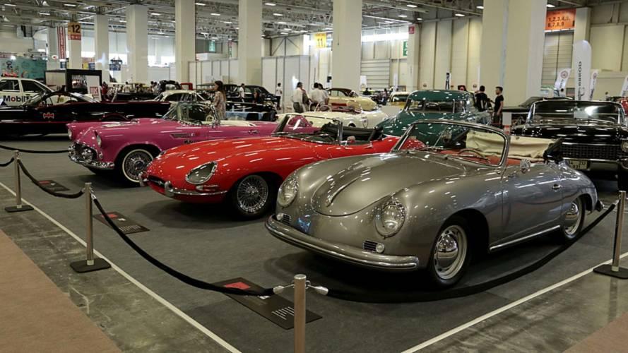 Klasik Otomobil Festivali yoğun ilgi gördü
