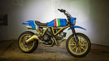 Wicked Custom Ducati Scrambler Going to Auction