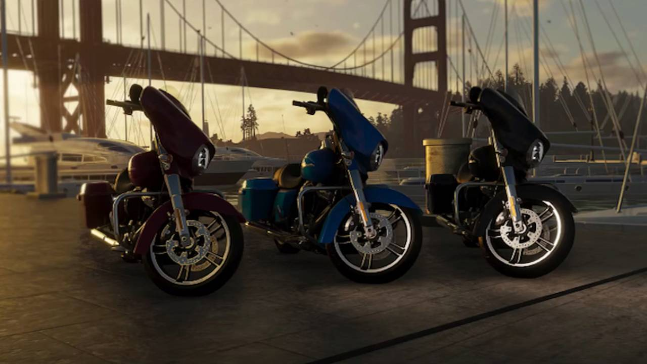 The Crew 2 To Feature Harley-Davidson Street Glide