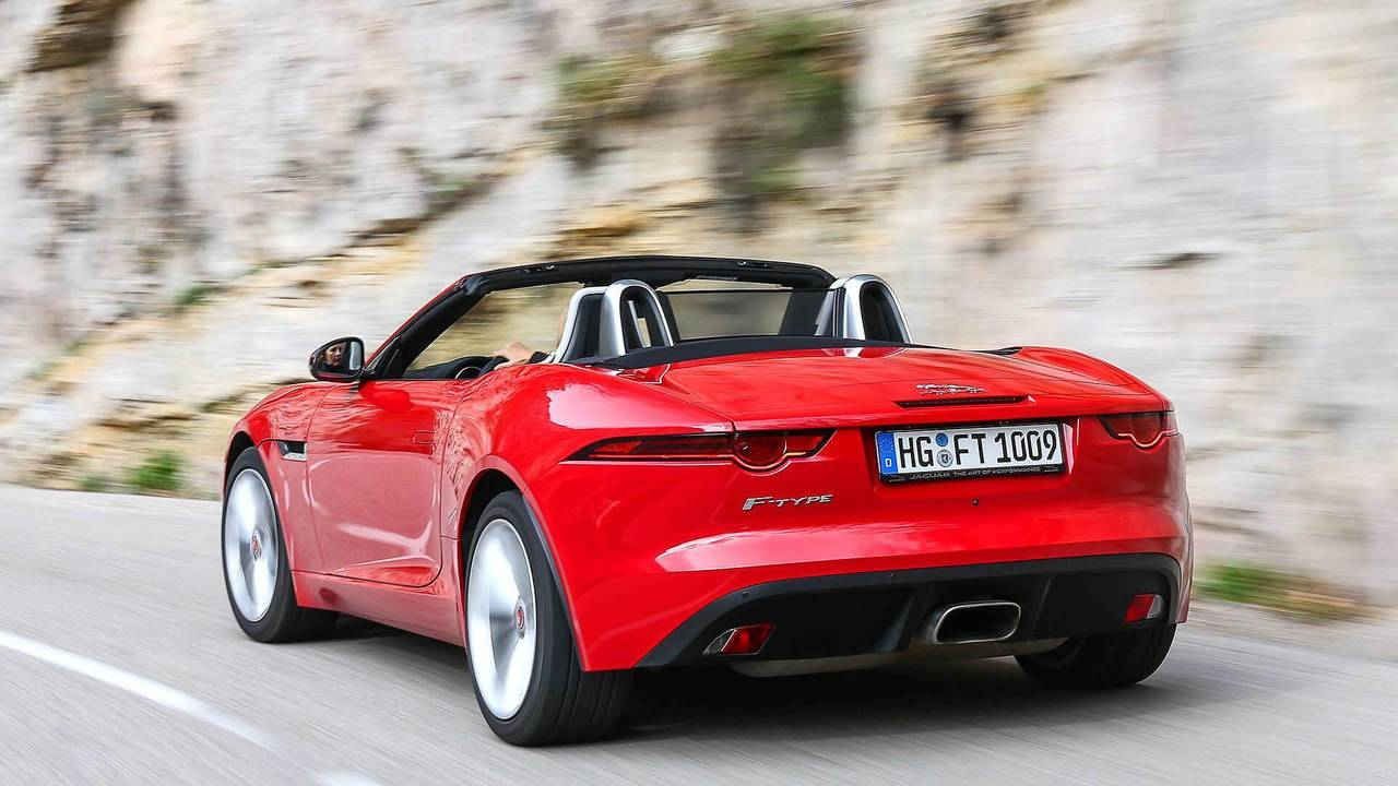 5. Jaguar F-Type Convertible