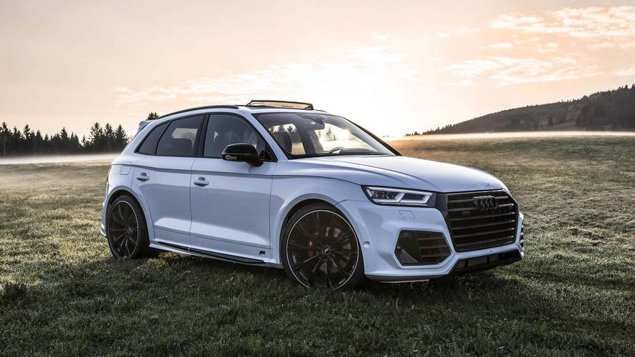 Audi SQ5 Upgraded By ABT Takes Scenic Route For Photo Shoot