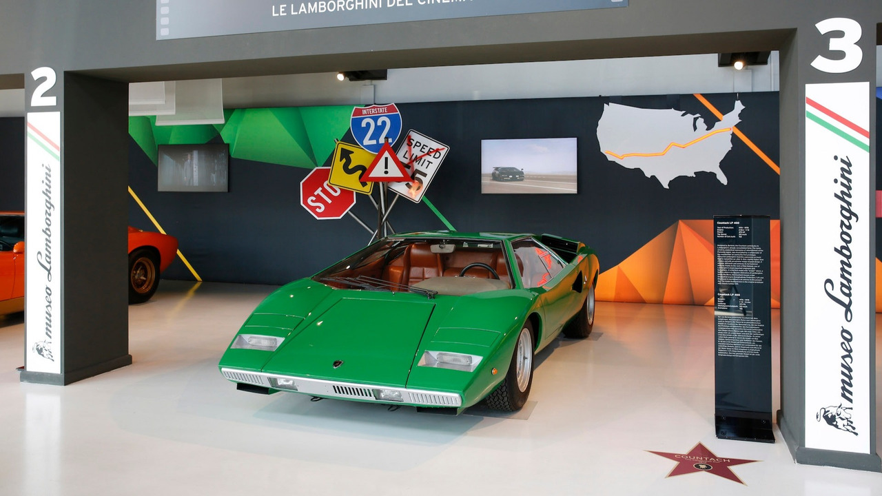 7. Lamborghini Countach (The Cannonball Run, 1981)