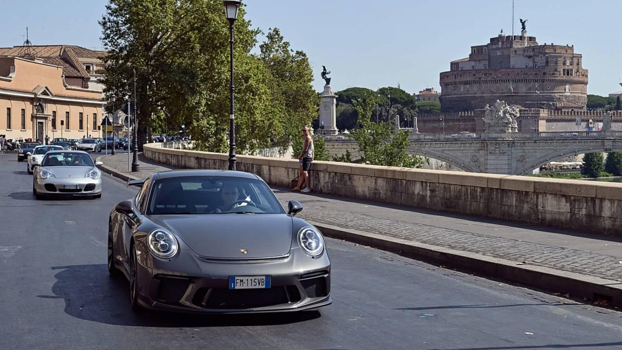 Porsche 70 Sportscar Together