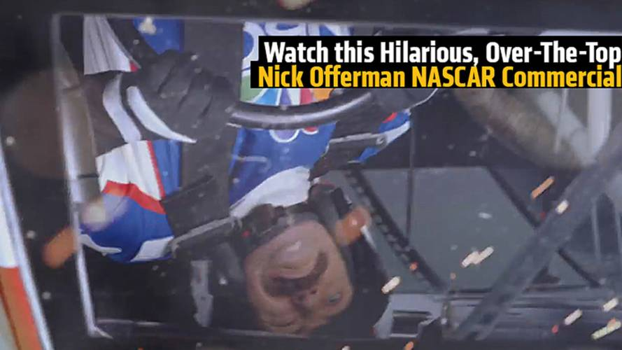 Watch this Hilarious, Over-The-Top Nick Offerman NASCAR Commercial