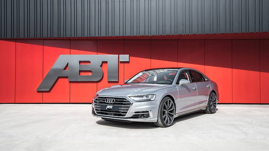 ABT modifiyeli Audi A8'e bir göz atın