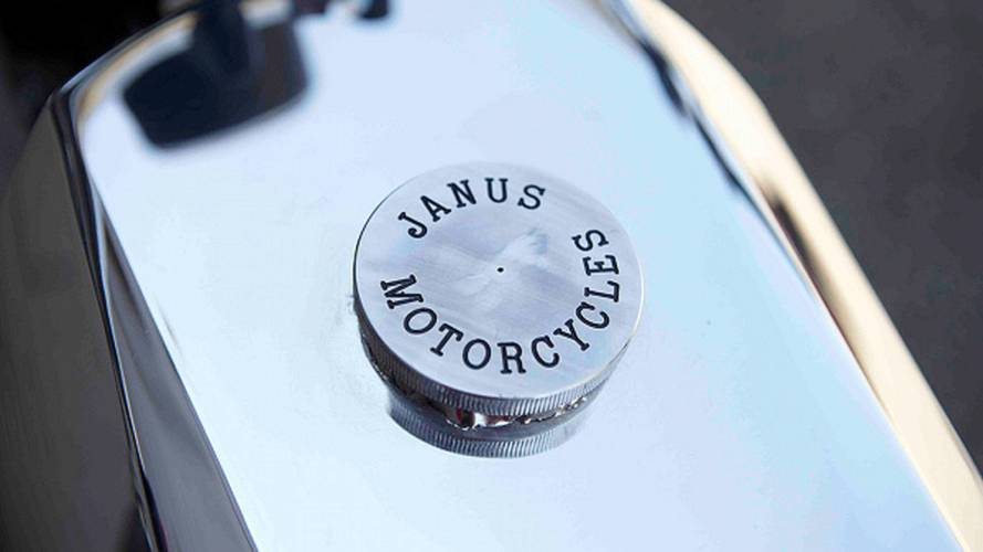 Janus Halcyon: a 1920s style 50cc two-stroke