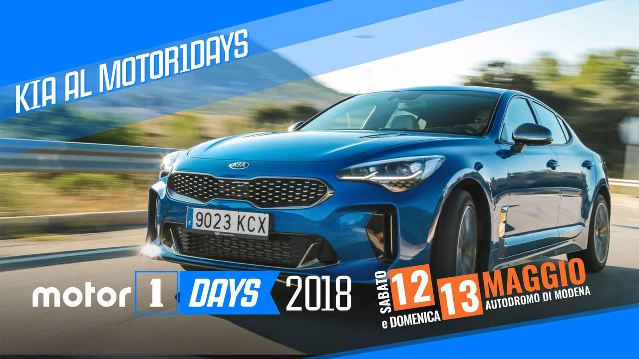 KIA al Motor1Days 2018