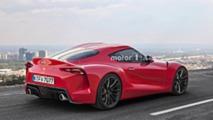 Toyota Supra Pre-Reveal Render