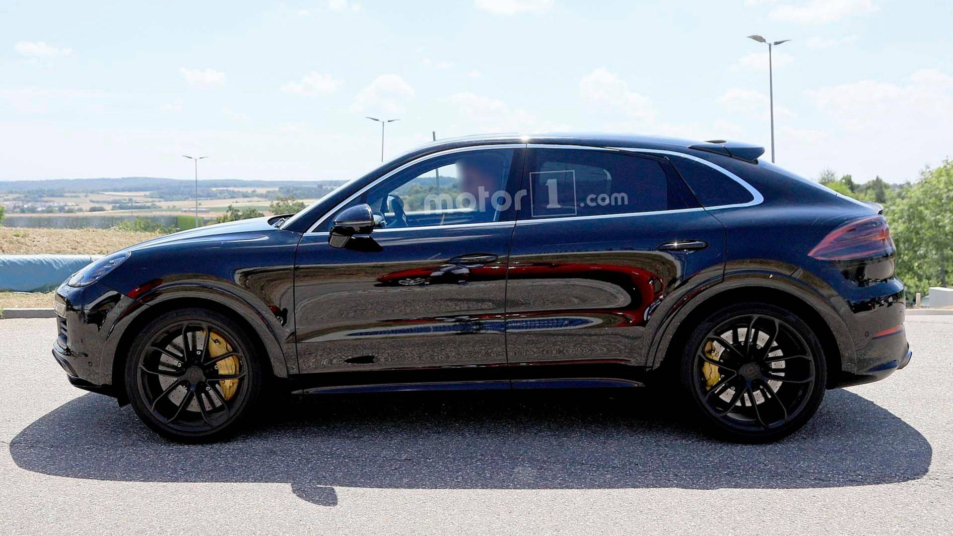 Porsche Cayenne Coupe Spied For The Very First Time
