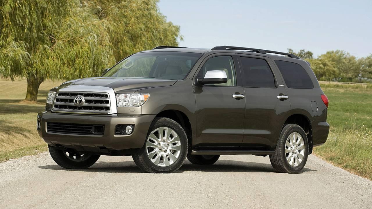 4. Toyota Sequoia – 13,525 miles