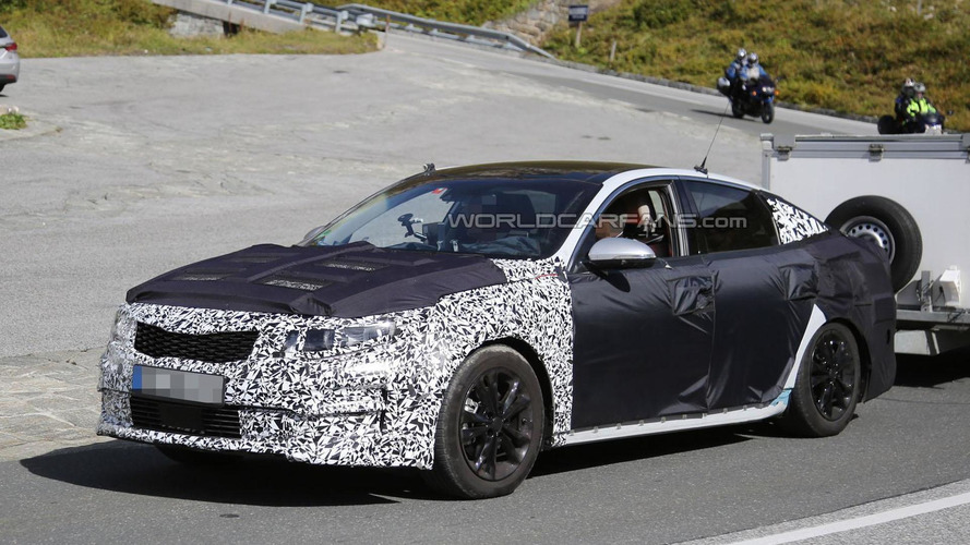 2016 Kia Optima spied inside & out