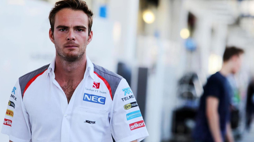 Van der Garde forcing Sauber to give him 2015 seat