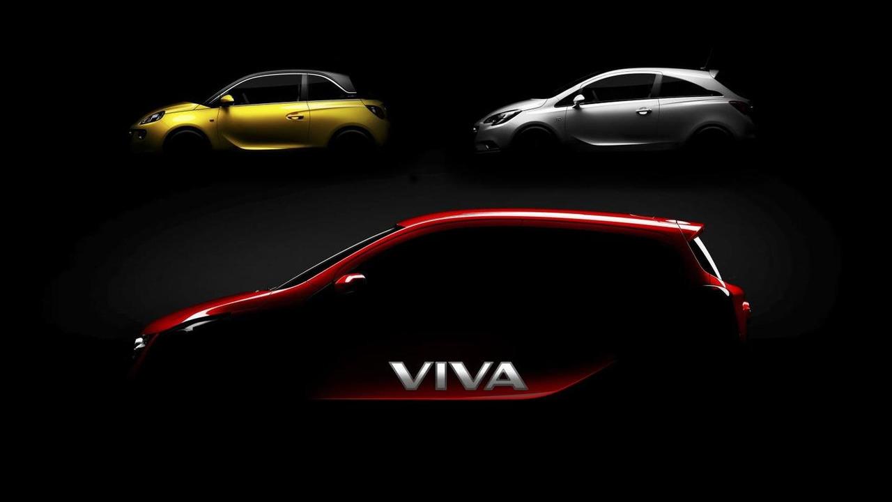 Vauxhall Viva city car teaser image