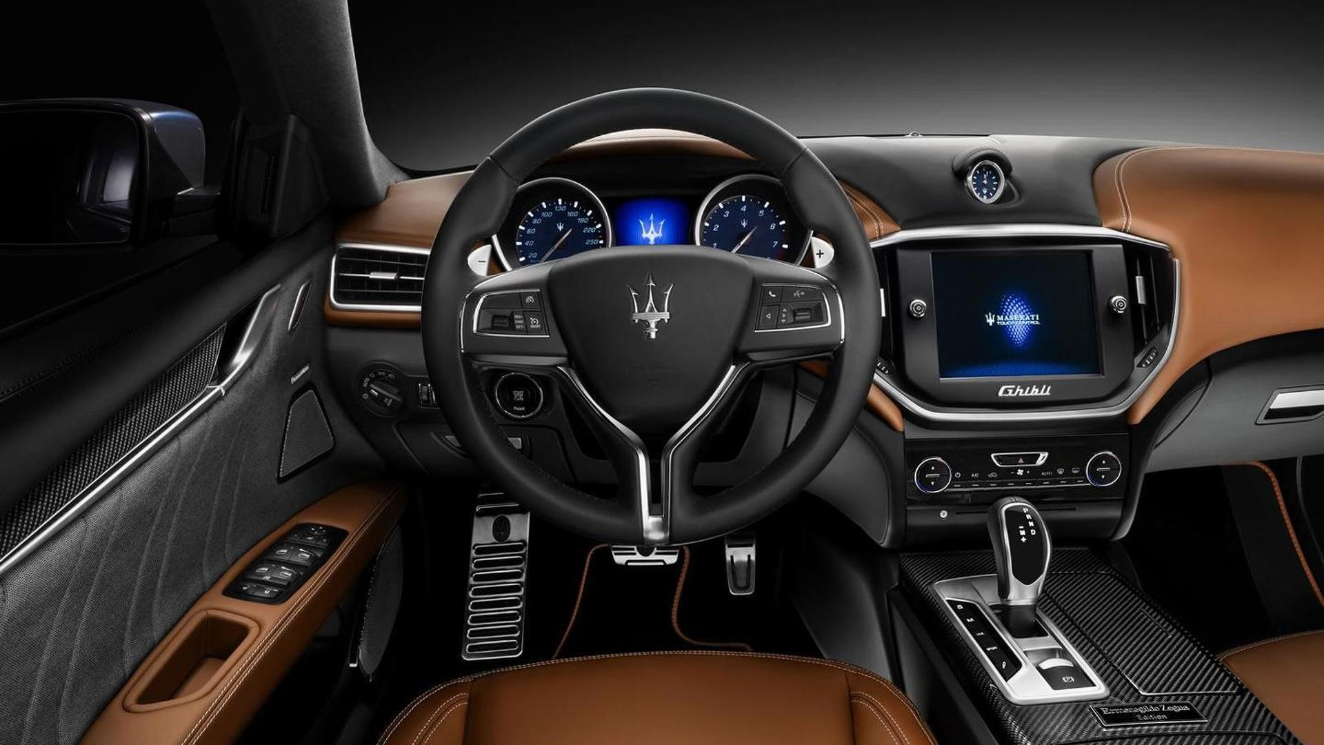 2016 Maserati Ghibli Quattroporte To Be Offered With A Ermenegildo Zegna Interior
