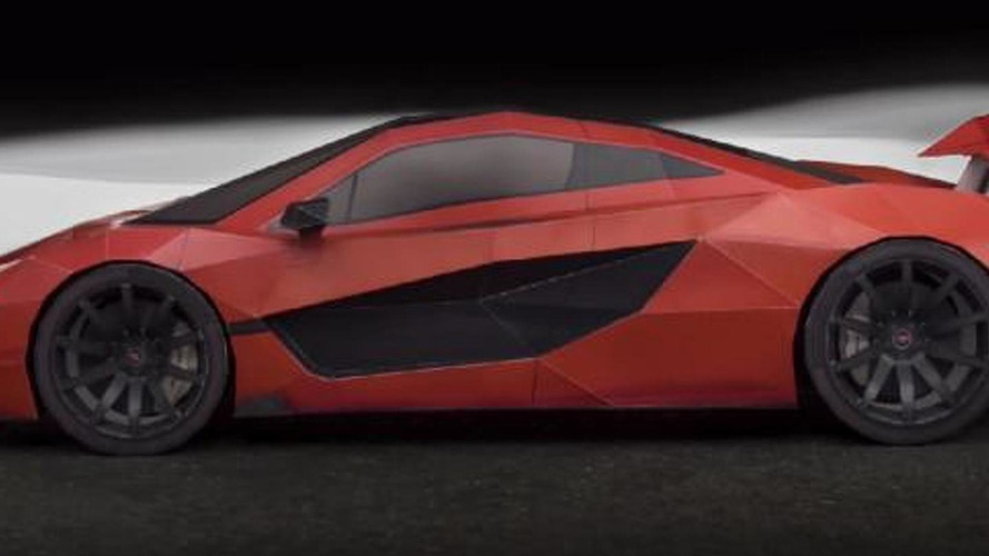 McLaren P1 superbly replicated in paper looks great [video]