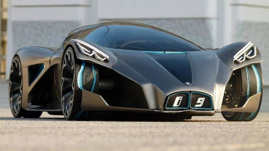 BMW i9 render is wild and futuristic