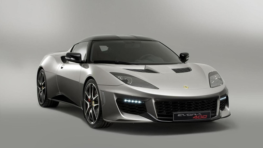 Lotus Evora 400 pricing announced