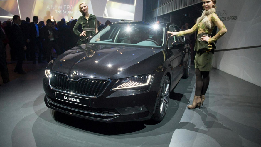 Skoda goes upmarket in Geneva with all-new Superb