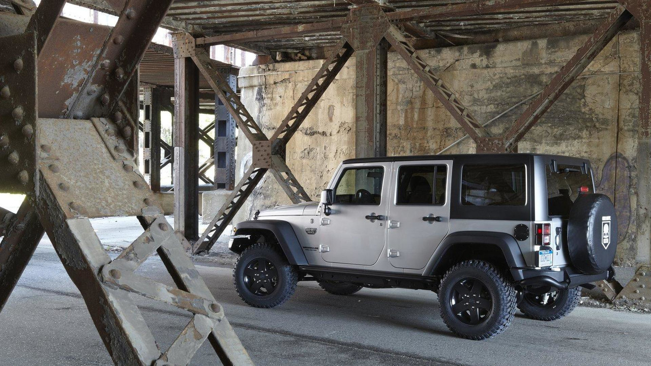 2012 Jeep Wrangler Call Of Duty Mw3 Special Edition 02 09 2011
