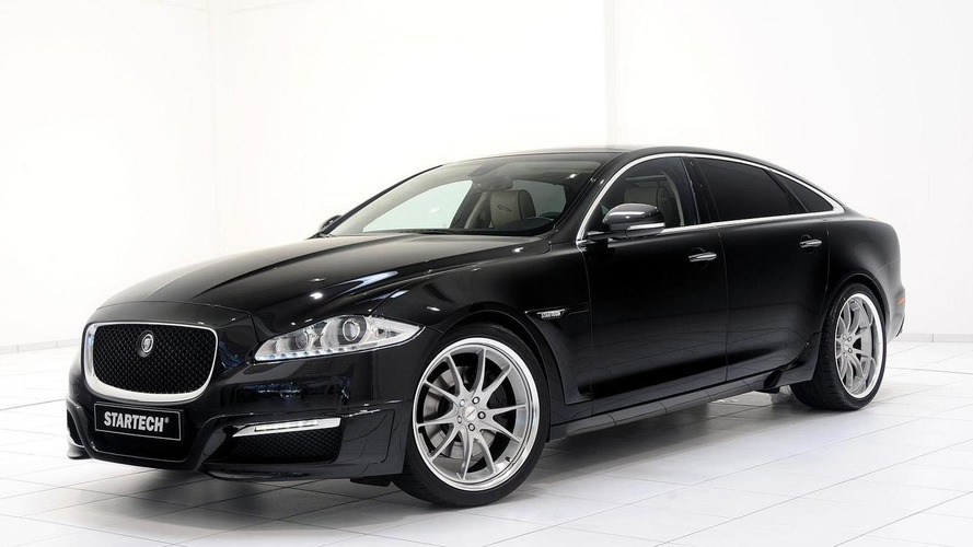 Jaguar XJ gets the iBusiness treatment by Startech