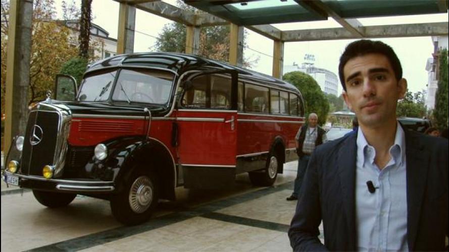 Come si viaggia (da passeggeri) in un autobus Mercedes del 1949 [VIDEO]