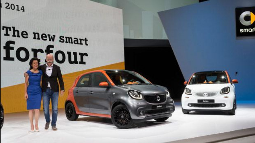 La nuova smart fortwo vista dal vivo a Berlino